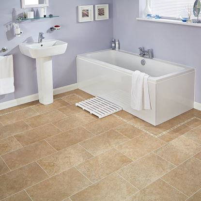 Picture of Karndean Knight Tile  Bath Stone ST12