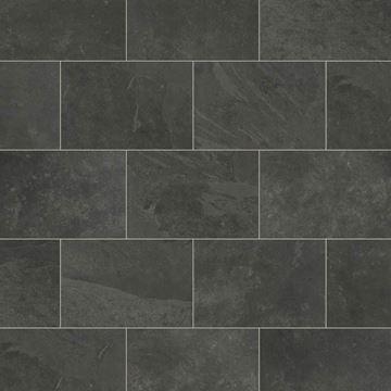 Picture of Karndean Knight Tile Black Riven Slate ST15