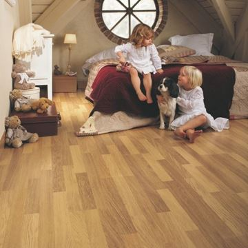Picture of Classic Wood Enhanced Oak Natural Varnished 3 Strip CL998 - HydroSeal