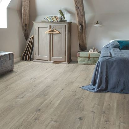 Picture of Livyn Pulse Click COTTON OAK GREY WITH SAW CUTS PUCL40106