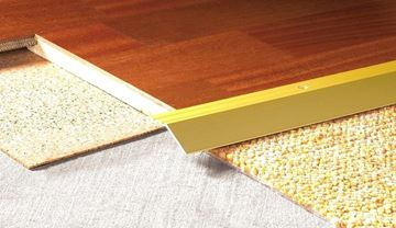 Picture of Angledge 20mm S/A - Matt Gold  .90m