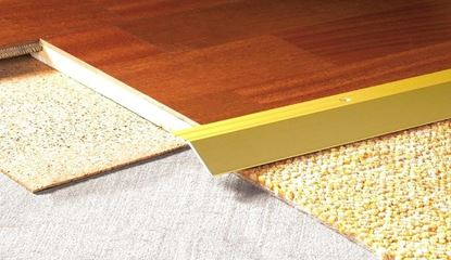 Picture of Angledge 8mm S/A - Matt Gold 2.7m