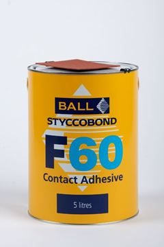 Picture of F BALL F60 Adhesive 5 Litre