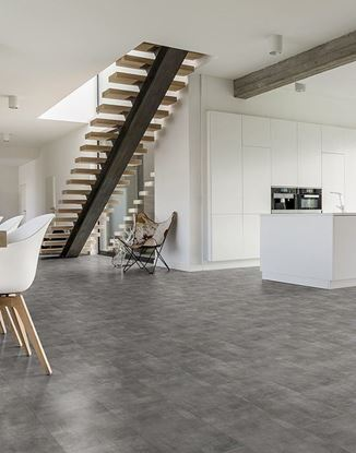 Picture of Luvanto LVT Click Stone Tiles Urban Grey