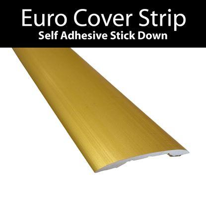 Picture of Euro Cover Strip - Matt Gold  .90m