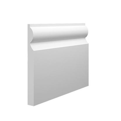 Picture of UM Skirting Mdf  7'' X  2.4M Torus Select Colour