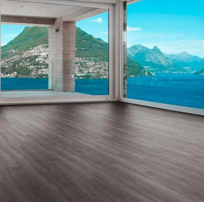Picture of Luvanto LVT Click Wood Plank Smoked Charcoal