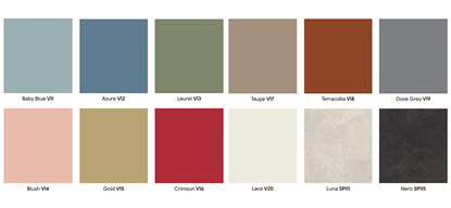 Heritage Collection Custom Colours