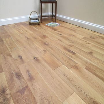 Picture of Naturecraft 150 x 14/3 Rustic Brushed & UV Oiled Oak.Clearance Special